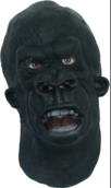 Actual gorrilla mask worn by global guerrillas!